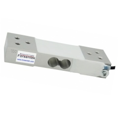 Strain gauge load cell low profile load cell