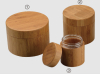 80ml Bamboo cream jar with inner PET jar
