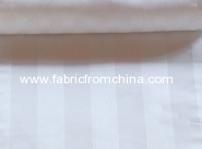 hotel or hospital medical striped satin 100% cotton fabric for bed sheets