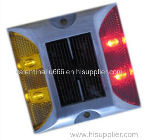 New design solar cat eye road stud aluminum road stud reflector
