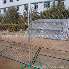 Australia standard temporary chain link mesh fence