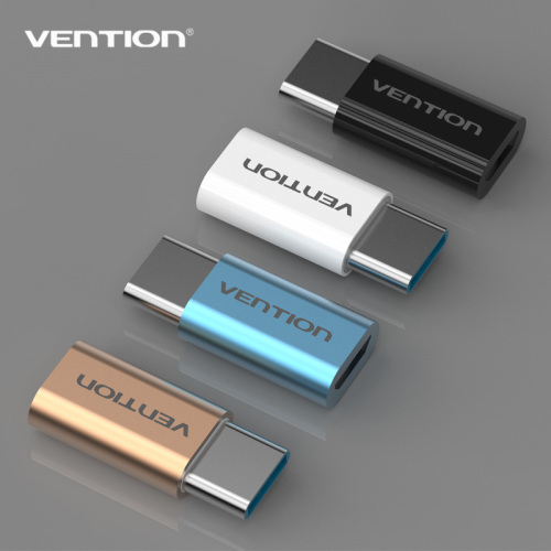 wholesale 2016 new VENTION USB 3.1 type adapter type-c to micro adpter male to female for charge cable VAS-S10
