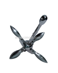 Folding Anchor Stainless Steel