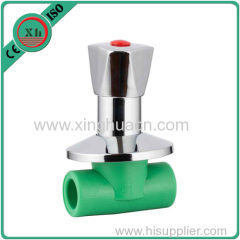 ppr high quality stop valve