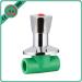 ppr high quality stop valve