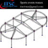 Aluminum trusses roof for NBA sports in Portugal market