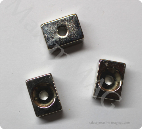 Neodymium Small countersunk magnets