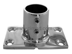 stainless steel 90°Rectangular Base