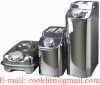 Stainless Steel Jerry Can / Oil Drum / Fuel Tank / Oil Tank