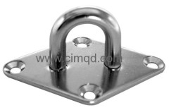AISI304 Eye Plate Diamond Base
