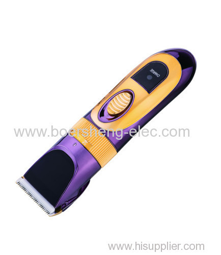 Professional Electric Hair Clipper with High Capapcity Lithnium Battery 2200mA for 1 Time Charging to Use more than 5h
