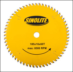 "184mm 7-1/4"" TCT saw blade professional quality"