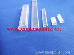 Quartz square tube 1