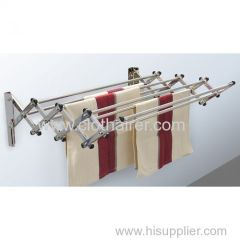 WALL MOUNT ALUMINUM DRYING RACK