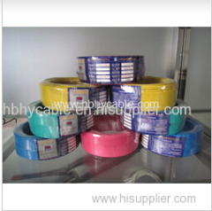 Double PVC Aluminum Wire Low Voltage Electric Wire