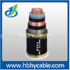 XLPE Insulated Single Core Armored Electrical Power Cable 10/20kv