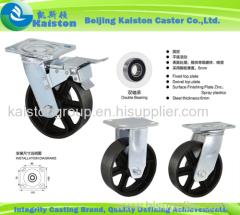 High Grade Iron Caster Wheels