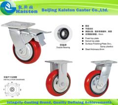 Kaiston Korean Type Polyurethane Caster heavy duty castors industrial castors