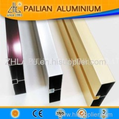 WOW!Chemical Polishing Aluminium Extrusions/crystal amber aluminum profiles/corolful polish aluminium profiles