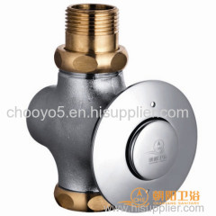 Push button flush valve for urinal made in china