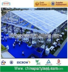 Clear span China Transparent Wedding Tent With Clear Top
