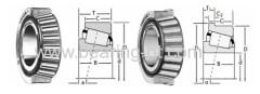 taper roller bearings solid block housed units