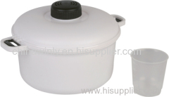 Pressure Cooker Plastic Microwave Daily Use
