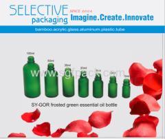 من الضروري النفط زجاجة زجاج بلوري اللون