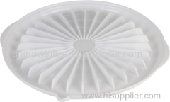 Grill Plate Plastic Microwave Daily Use
