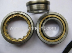 Small friction coefficient cylindrical roller bearing