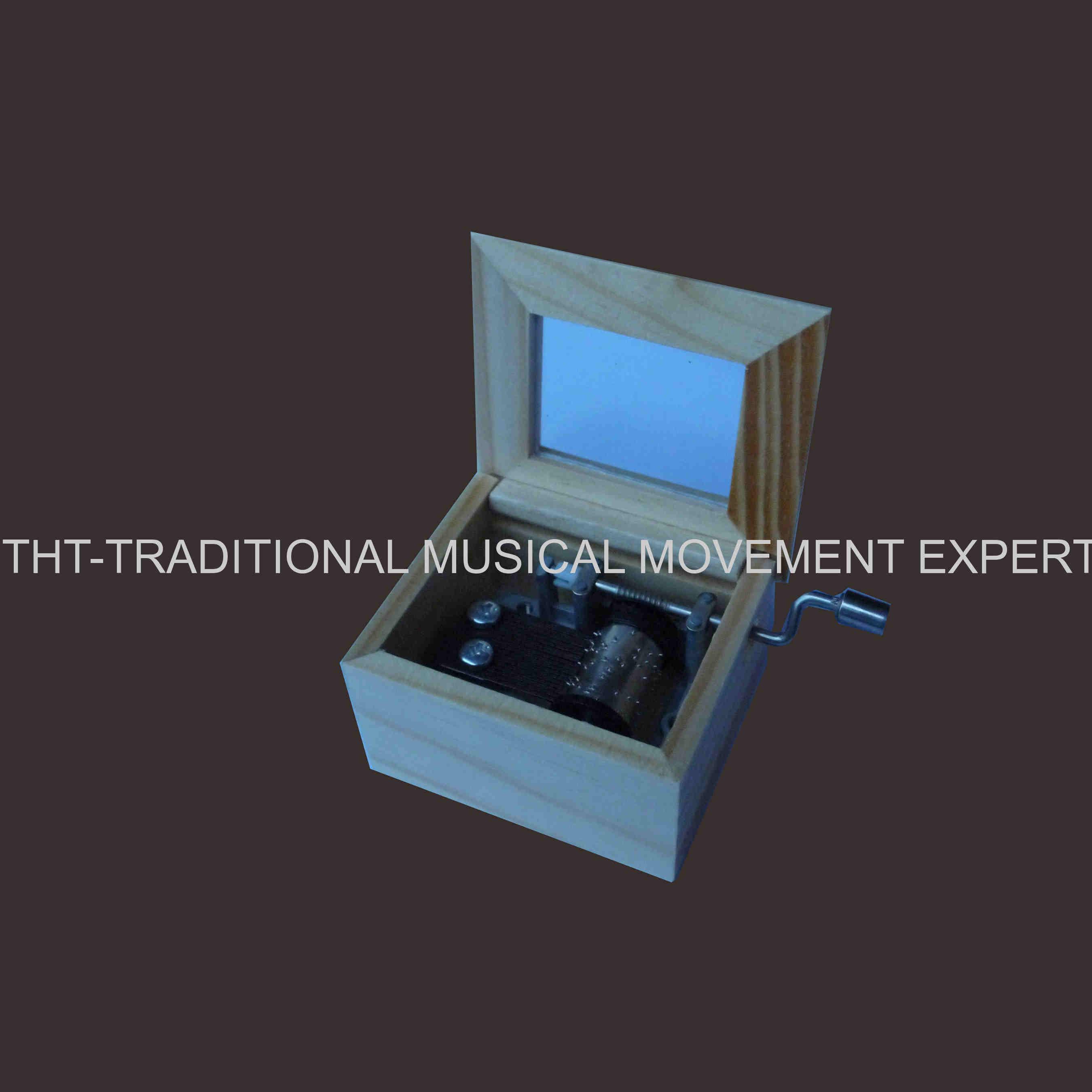 Simple Design Hand Crank Wooden Toys