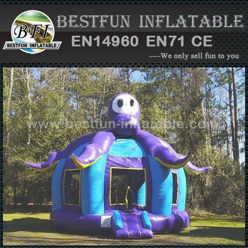 Inflatable Octopus Jumper Fun Bounce