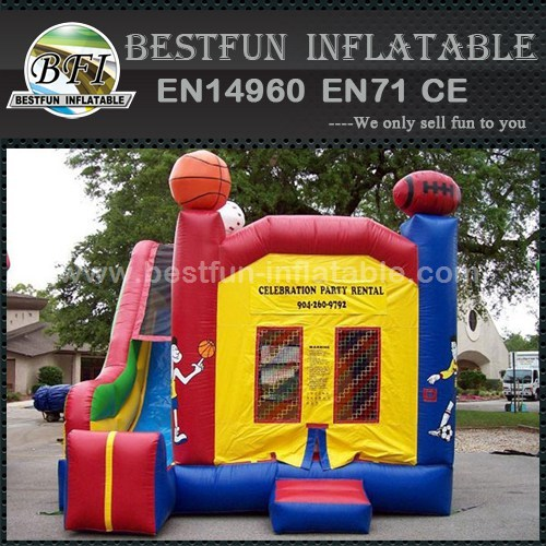 Sports Inflatable mini jumper and slide combos