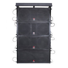 VCM dual 10'' power line array system from guangzhou oem