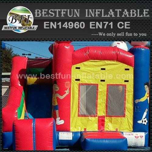 Inflatable sport game theme printing combo