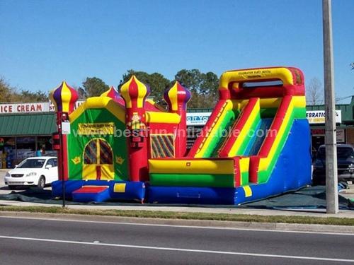 Amusement children indoor playground inflatable combo