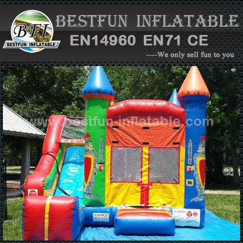 Inflatable jumping castle crayola combo bouncy