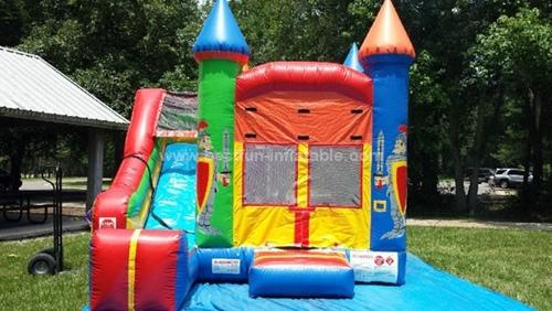 Crayola inflatable bounce slide combo
