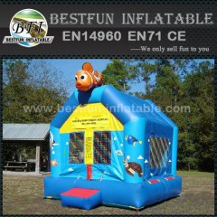 Popular nemo theme inflatable bouncer