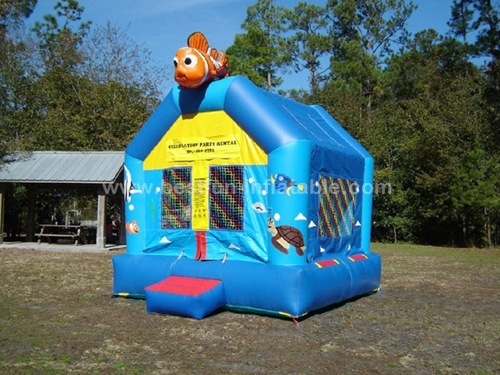 Party rental nemo bounce house for children