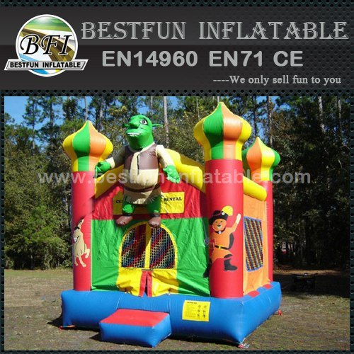 Commercial Inflatabl Shrek Castle bounce