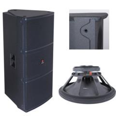 Dual 15'' 1000W RMS DJ equipment disco equipment