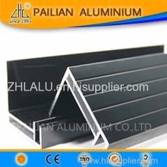 Aluminium extrusion frame from ZHL factory aluminum extrusion frame for solar panel frame /aluminium solar border Mounti