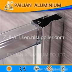 Malaysia aluminum profile for shower enclosure/shower room/shower cabin hinged aluminium shower enclosure door alu acces