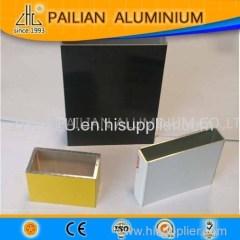 Aluminium Alloy Company Aluminium Extrusion Tube Profile In Aluminium Cut By Sizes