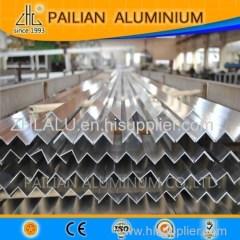 Hot! Aluminium equal or unequal angle extrusion profiles /Aluminium 6063 angel bar suppiler