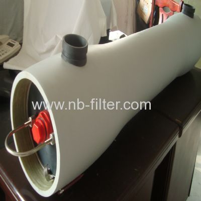 frp high flow cartridge housing