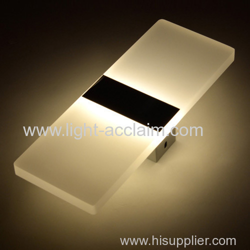 Modern minimalist creative LED acrylic bedside lights