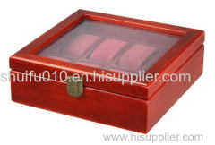 Premier Cherry Wood Watch Box for 8 Watches