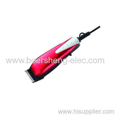 Durable Hair Clipper Trimmer with Cord Stainless Steel Blade Clipper